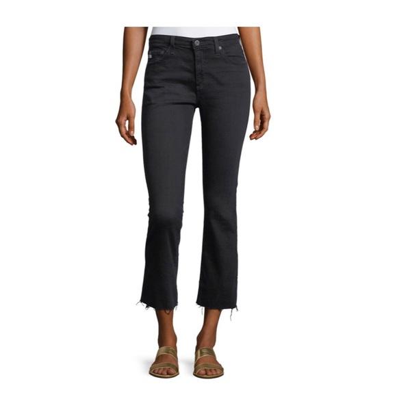 Ag Adriano Goldschmied Denim - AG The Jodi High Waist Slim Flare Crop Jeans